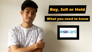 What you need to do with SBI Cards share | Buy, Sell or Hold | For ones who are stuck with IPO |