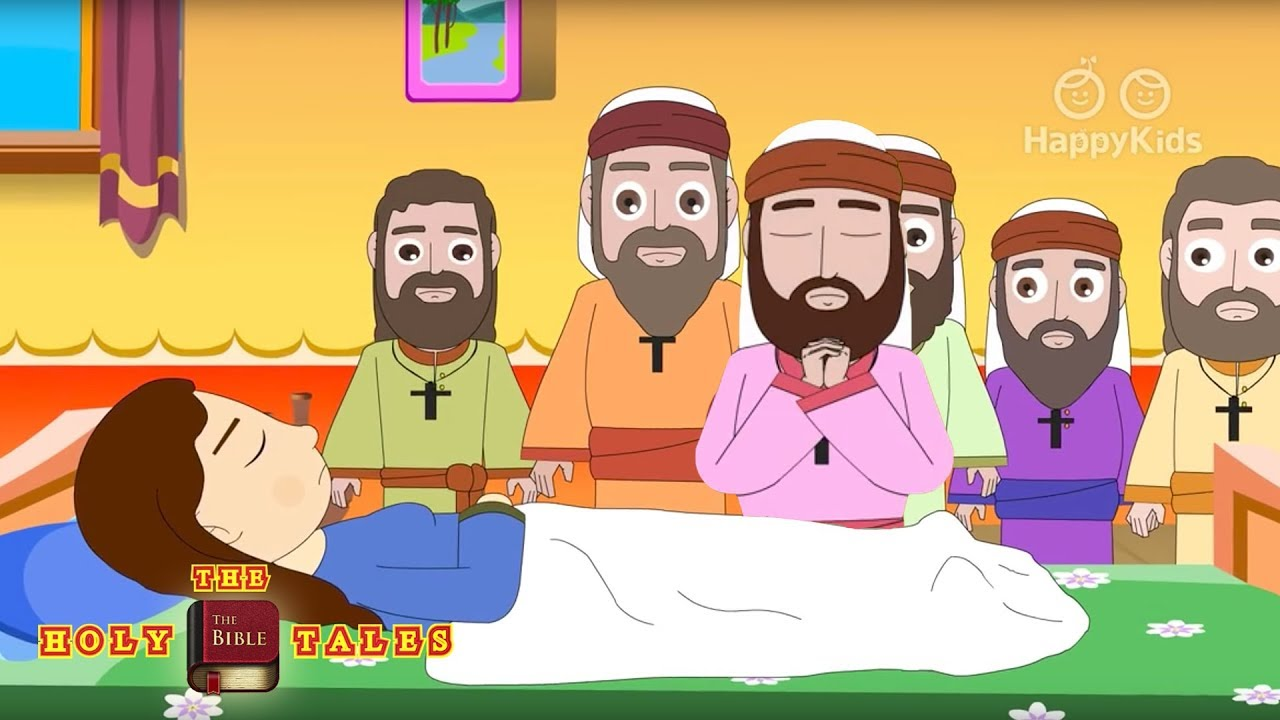 Peter In Jaffa I New Testament Stories I Animated Children S Bible Stories Holy Tales Bible Stories Youtube