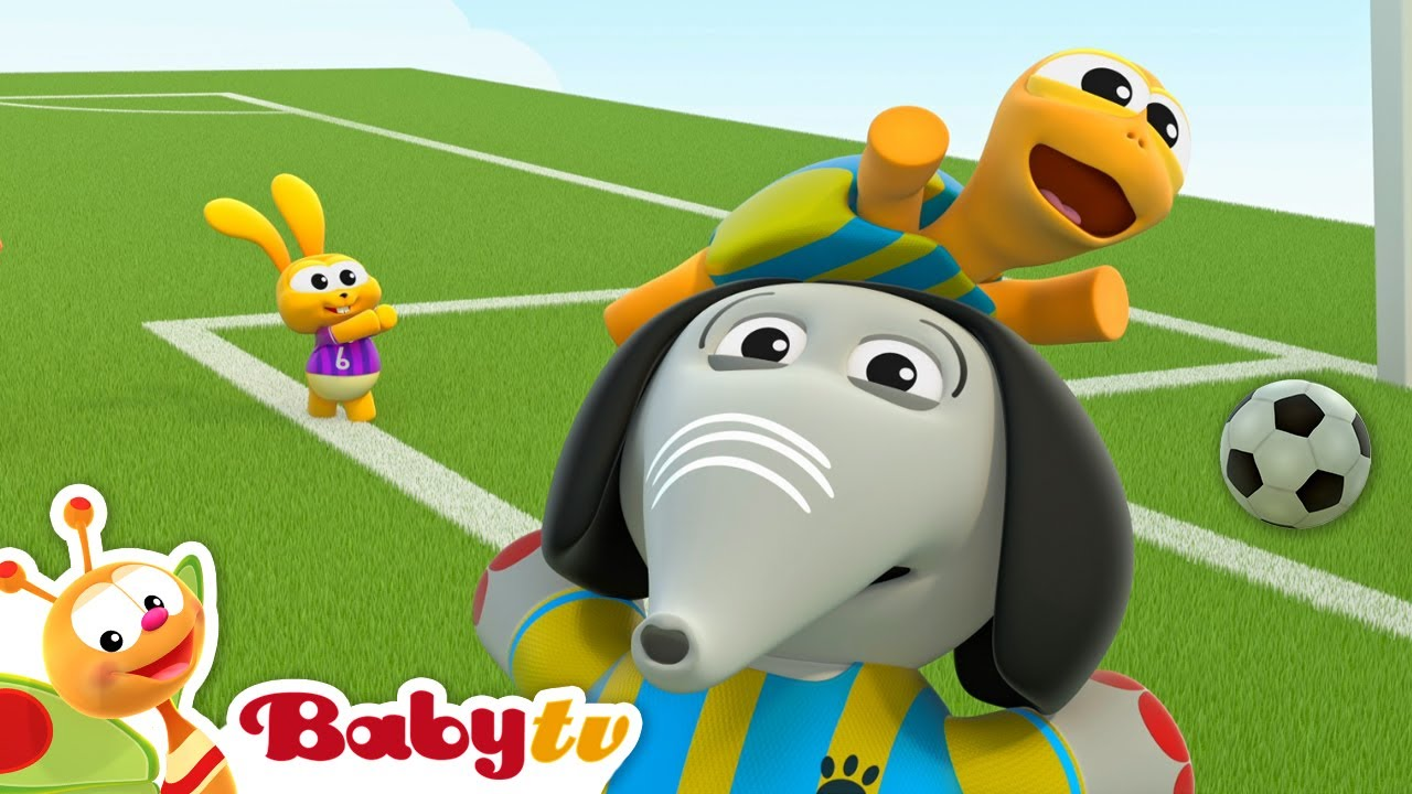 Klub Olahraga BabyTV mempersembahkan pertandingan sepak bola ⚽   Olimpiade #Tokyo2021