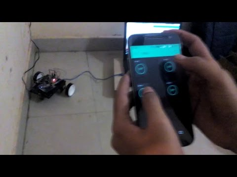 Tutorial: Simple WiFi Controlled Robot Using ARMA IoT and Blynk