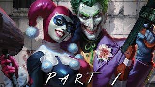BATMAN RETURN TO ARKHAM (Arkham Asylum) Walkthrough Gameplay Part 1 - Joker (PS4 Pro)
