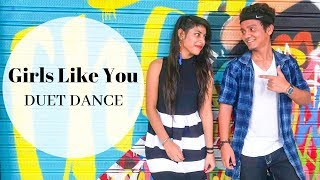 Download Girls Like You | Duet Dance | Amit K Samania Choreography