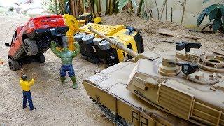 Download 탱크 장난감 포크레인 중장비 트럭놀이 Tank Toy Helps Excavator Truck Mp3 and Videos