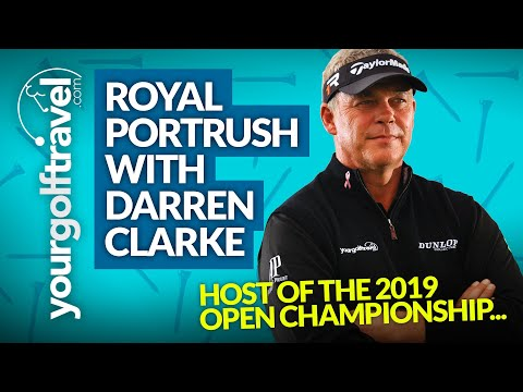 Your Golf Travel - Day with Darren Clarke at Royal Portrush, Northern Ireland
