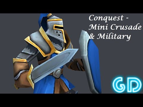 Conquest - Mini Crusade & Military Strategy Game Gameplay Android