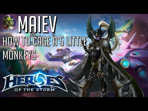 Maiev - Cage them all! HoTS Heroes of the Storm