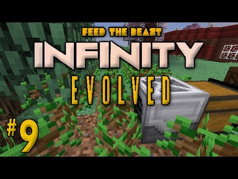 "Minecraft: FTB Infinity Evolved - Ep. 9 - ""Automatic Tree Farming!"""