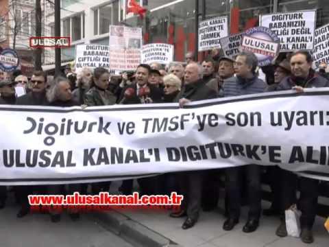 Digitürk'ü ve TMSF'yi son kez uyarıyoruz: Ulusal Kanal'ı derhal Digitürk'e alın!