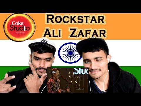 Indian Reaction on Rockstar | Ali Zafar | Coke Studio | Swaggy d