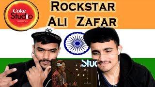 Indian Reaction on Rockstar   Ali Zafar   Coke Studio   Swaggy d