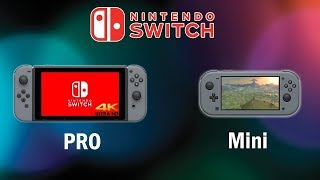 Nintendo Switch PRO and Switch Mini released! - VGM - EliotFox - Nintendo - Switch Mini - Switch Pro