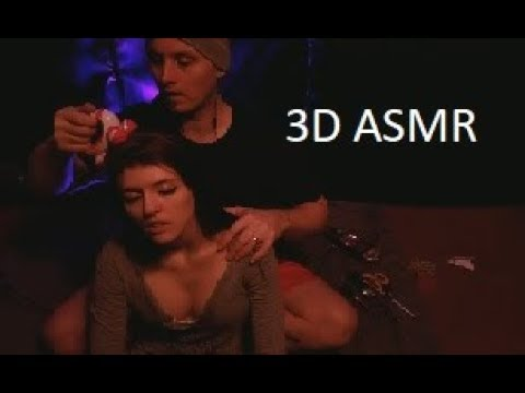 ASMR -Sensual -3D sound-female- different toys