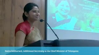 Smita Sabharwal, IAS Officer's Talk on International Women's Day Celebrations