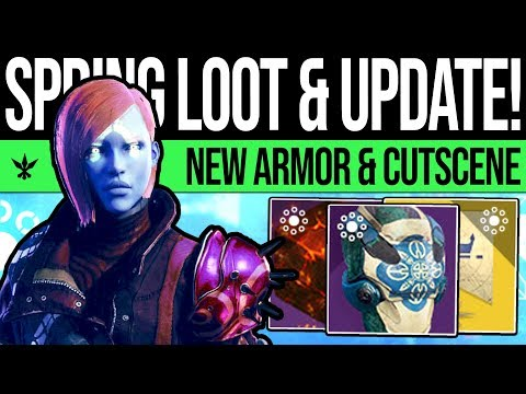 Destiny 2 | DLC NEWS UPDATE! New Armor Sets, Mystery Exotic, Power Fix, New Character & Tower Quest! thumbnail
