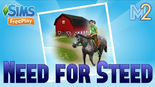 Sims FreePlay - Need for Steed Quest with Harry Potter and Hunger Games (Let