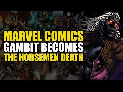 The X-Men: Gambit Becomes The Horseman Death!