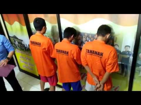 Bersekongkol Edarkan Sabu, Napi dan Pegawai Rutan Kotabumi Ditangkap Polisi
