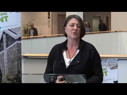 European Commissioner Violeta Bulc about signing the clean buses declaration July 13th 2017