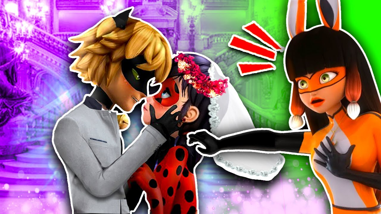 VOLPINA PREVENTS LADYBUG and CAT NOIR WEDDING 😡😩