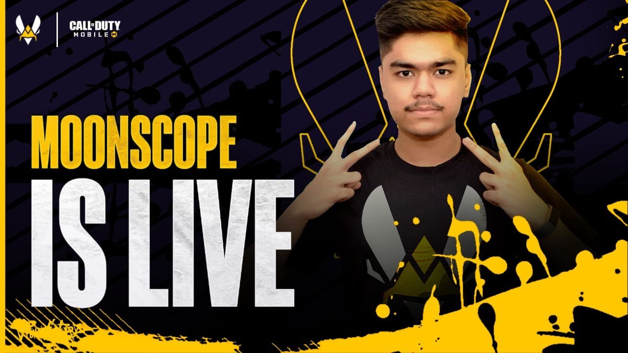 India's *BEST* Sniper is Back! CODM Live w/ Moonscope