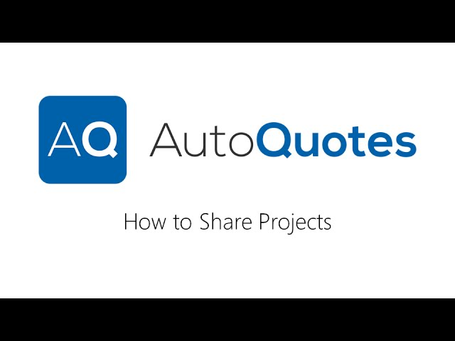 How to Share Projects in AQ