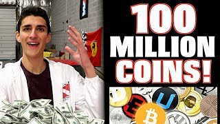 I Bought 100,000,000 of This Cryptocurrency Coin! Up 200%!!