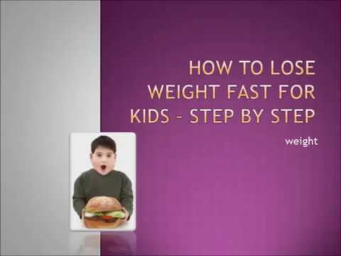 how to lose weight fast for kids without exercise  youtube