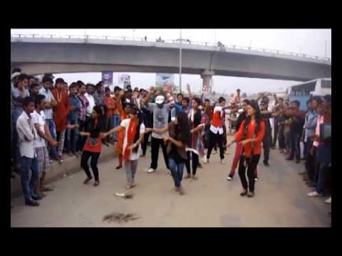 Flash Mob by the Students of Presidency University