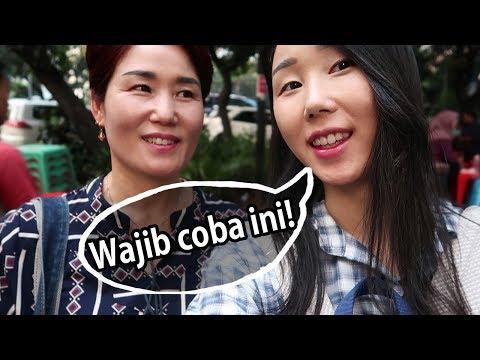 Hunting jajanan Indonesia dengan mama dari Korea