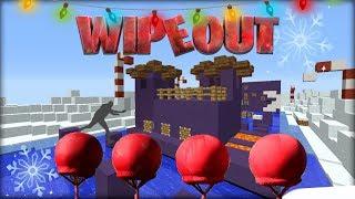 Wipeout v Minecraftu! - 3.VÁNOČNÍ WIPEOUT 2017! THUG LIFE LAMA SEKURIŤÁK!
