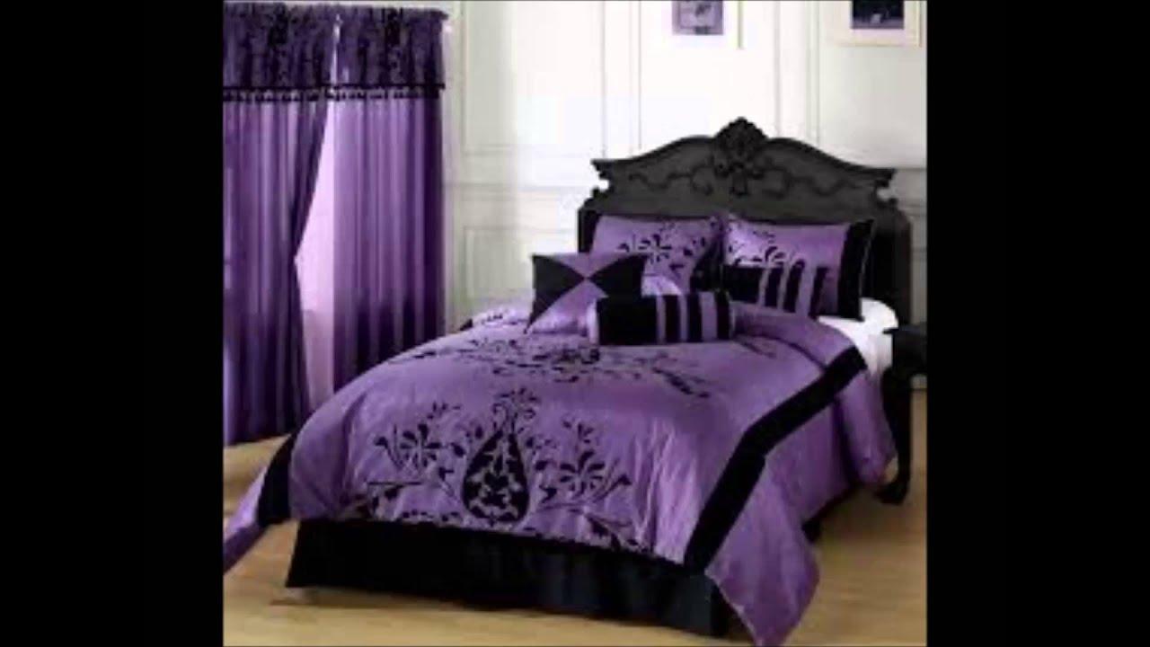 Bedroom Ideas  Teenage Bedroom Ideas  Purple  YouTube