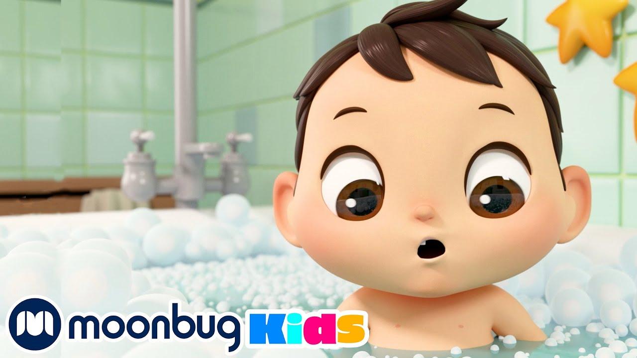 Bath Song | Cartoons & Kids Songs | Moonbug Kids - Nursery Rhymes for Babies