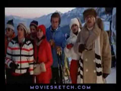 fantozzi - gara di sci