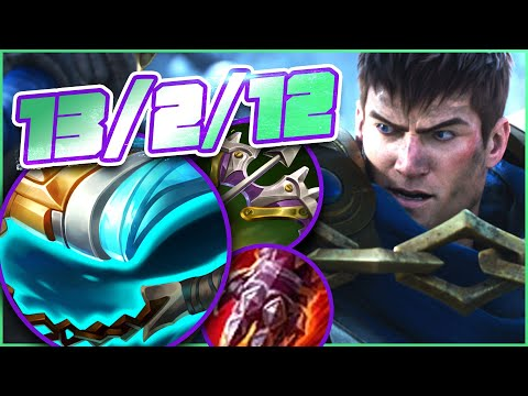THIS is why Stridebreaker is Garen's best Mythic   vs Jax   riste   League of Legends