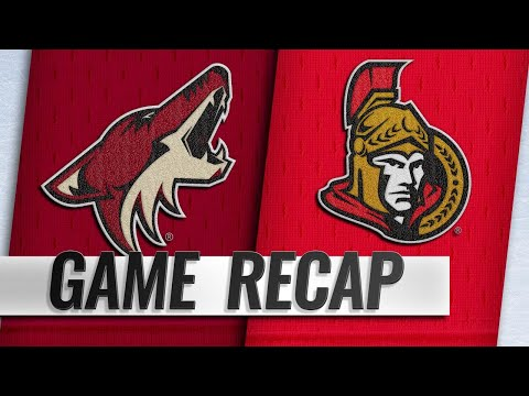 Hinostroza scores twice in 3-2 victory vs. Senators