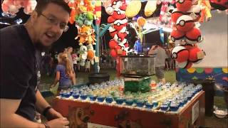 WINNING MONEY AT THE CARNIVAL???   JJGeneral1 & Matt3756   Carnival games   TeamCC