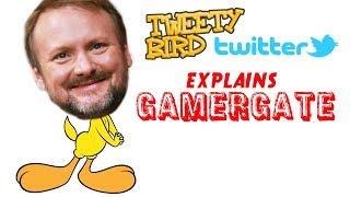 RIAN JOHNSON TWEETY BIRD ON TWITTER EXPLAINS GAMERGATE  =TRILOGY CANCELLED?