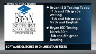 Statewide software glitches in online STAAR tests prompt concerns
