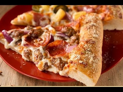 Pizza Hut S New Hand Tossed Pizza Youtube