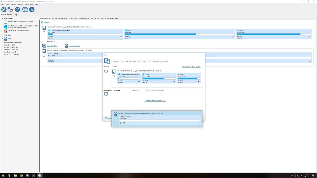 Harde Schijf Klonen Windows 7.Harde Schijf Klonen Naar Ssd