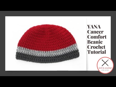 You Are Not Alone Unisex Adult Beanie Free Pattern Workshop