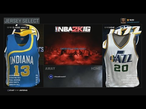 0961a80e5e94 NBA 2K16 My Career  How To Use Alternate Jerseys In My Career!