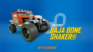 Hot Wheels Race Off: Unlocked Baja Bone Shaker and Test Drive The Bones