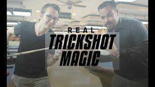 Magic Tricks + Billiard Trick Shots!!!