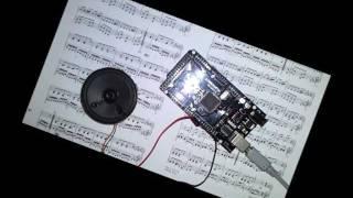 Mozart Alla Turca auf Arduino Mega 2560 Klaviersonate 11, KV 331