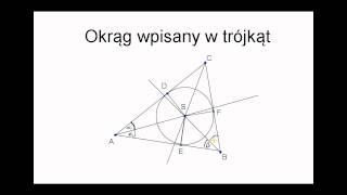 Video Okrąg wpisany w trójkąt download MP3, 3GP, MP4, WEBM, AVI, FLV Agustus 2017