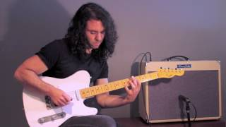 roberto restuccia jamming with a cbg backing track