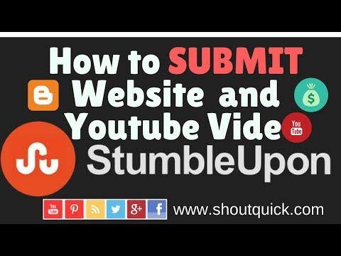 How to Submit Website Or Blog to Stumbleupon