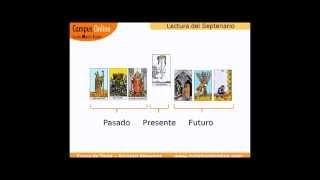 Lectura de Tarot del Septenario con los Arcanos Menores ejemplo 1, explicada paso a paso