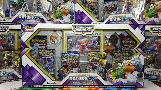 Opening 6x Pokemon Forces of Nature GX Premium Collections